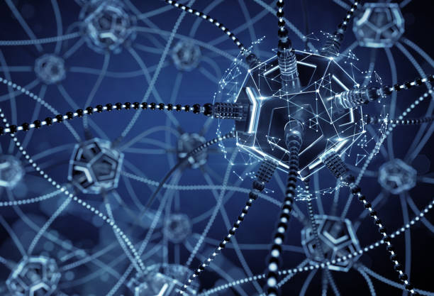 Artificial Neural Network stock photo