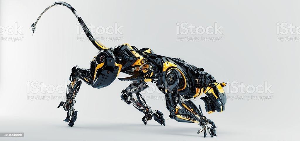 Künstliche panther – Foto