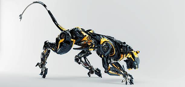 Artificial panther​​​ foto