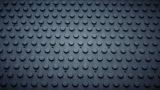 artificial pvc studded industrial floor - materiale gommoso foto e immagini stock