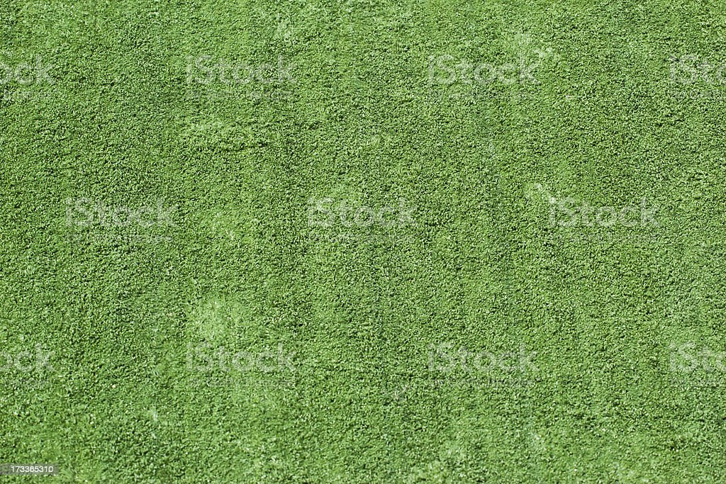 Artificial rolled green grass royalty-free stock photo