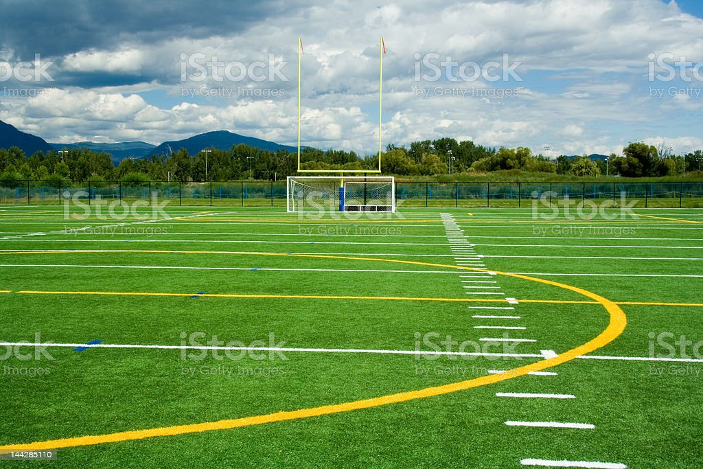Artificial sport turf royalty-free stock photo