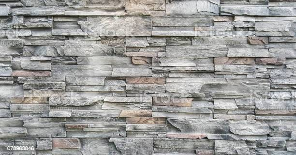 Photo of Artificial stone wall