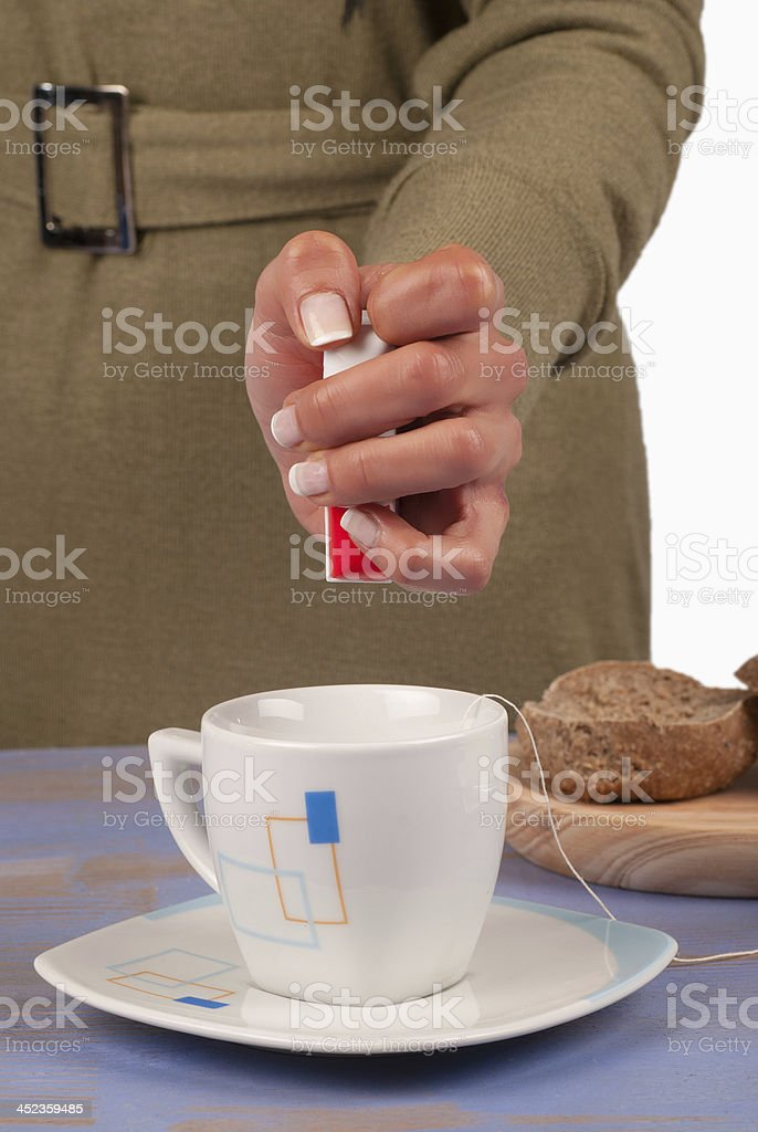 Artificial sweetener royalty-free stock photo