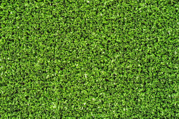 Artificial turf green grass background texture stock photo