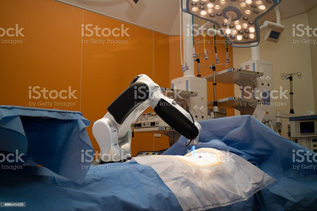 artificial, white, medical, machinery, future, paramedic, new, clinic, arm, intelligence, occupation, people, technology, medicine, equipment, modern, robotic, surgery, room, hospital, futuristic, science, automation, machine, robot, factory, part, backgr stock photo