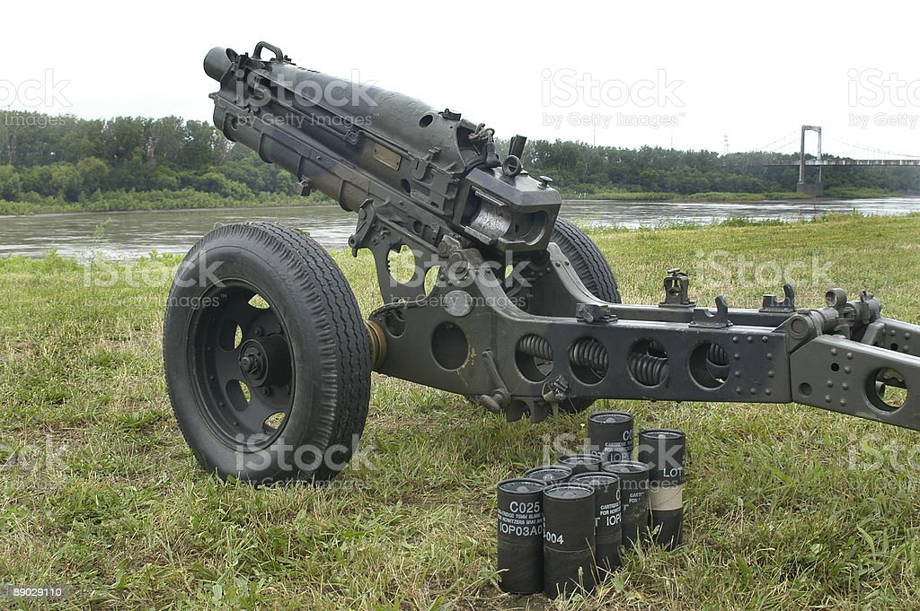 Artillery and Ammo stock photo