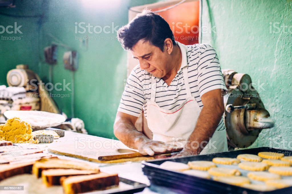 Artisan Bakery stock photo