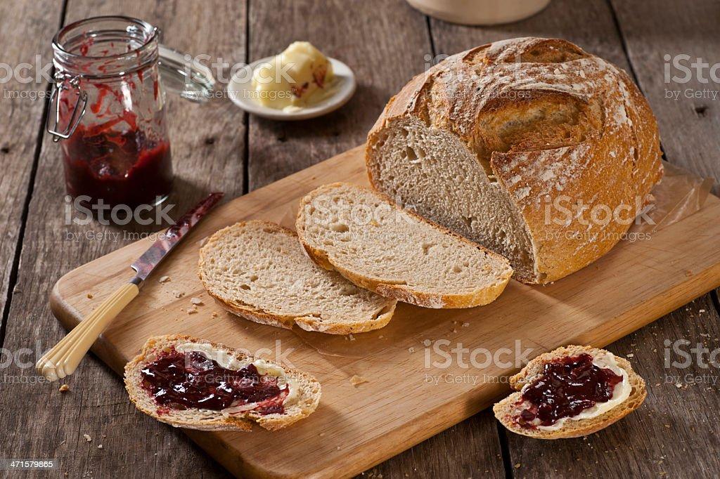 Artisan Bread royalty-free stock photo