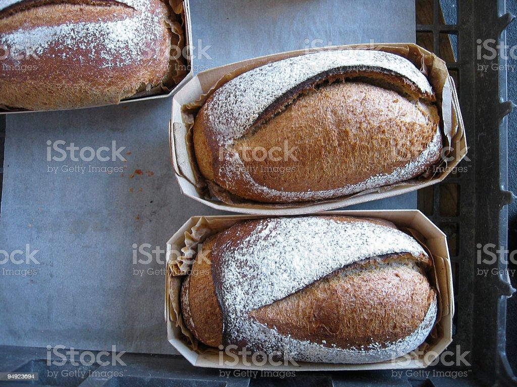 artisan bread stock photo