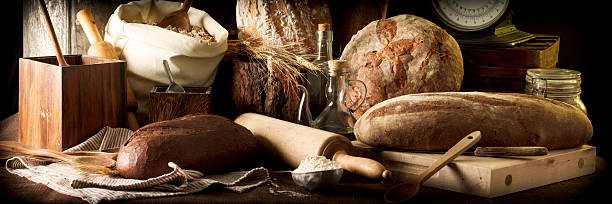 Artisan Breads stock photo