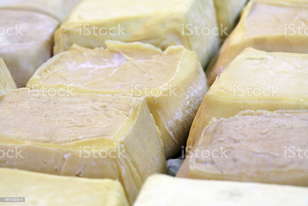 artesanal cheese royalty-free stock photo