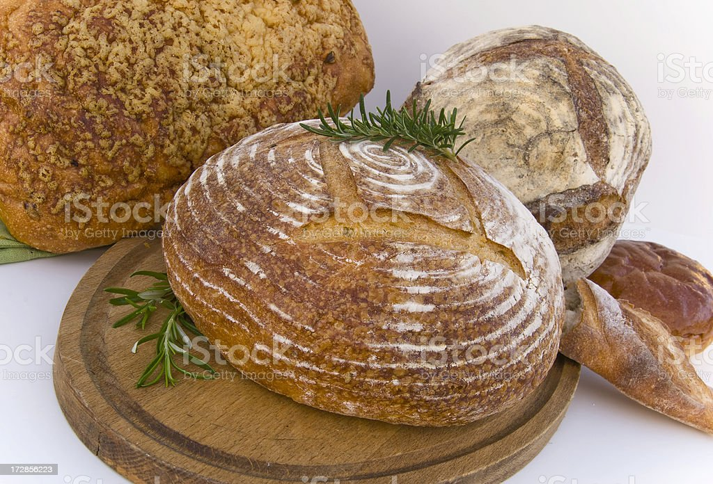 Artisanal Breads royalty-free stock photo