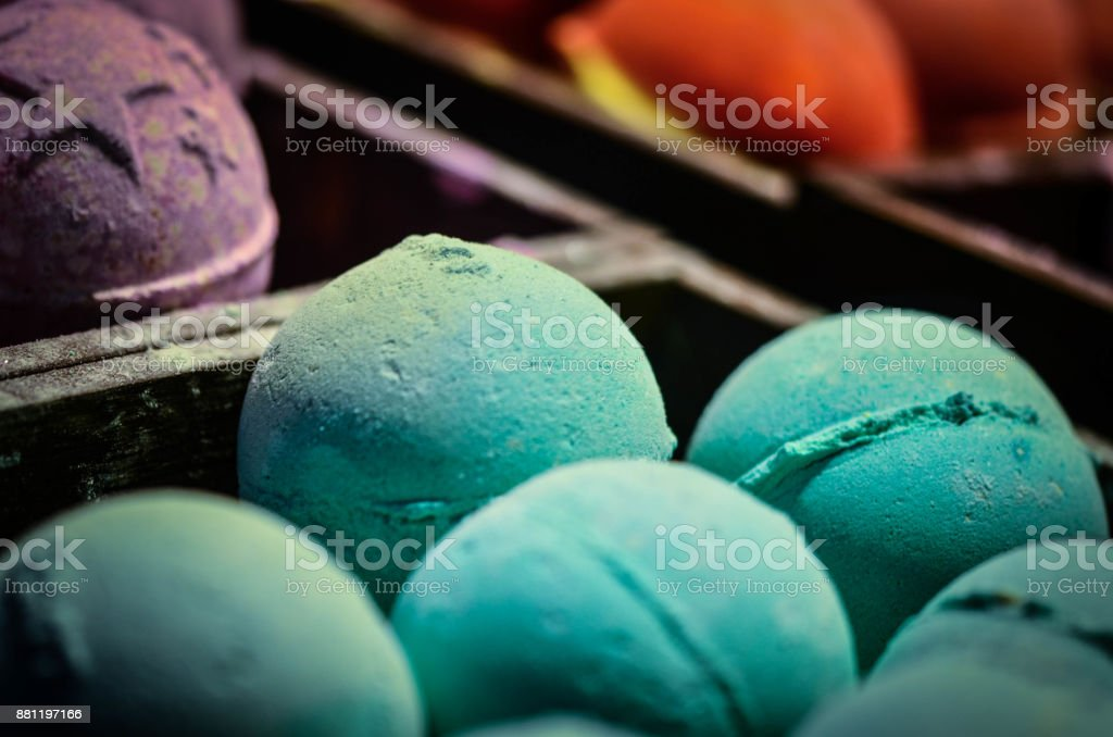 artisanal soap close up stock photo