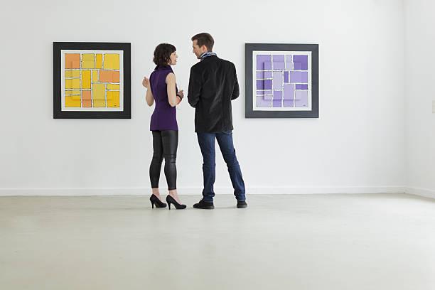Künstler und Galerie Inhaber sprechen – Foto