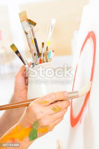 istock Artist at work 532154489