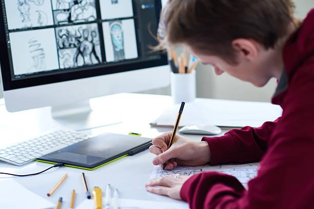 Artist at work picture id534318480?b=1&k=6&m=534318480&s=612x612&w=0&h=uxov8xxhxgcsyrzw7ssxd6uj78x6hocxziuawlw7mcc=