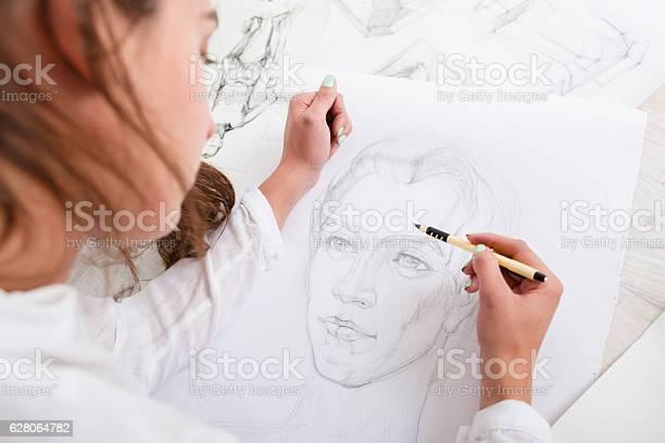 Artist drawing pencil portrait closeup picture id628064782?b=1&k=6&m=628064782&s=612x612&h=ajfq 2vudqwvw 7h8uanuiv2vk qmg2nz0kp394xbbe=