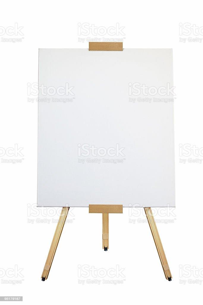 Artist Easel stock photo