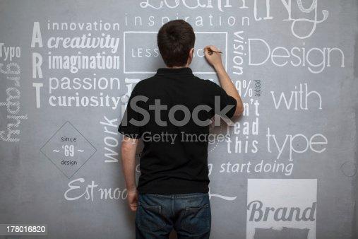 istock artist painting fonts 178016820