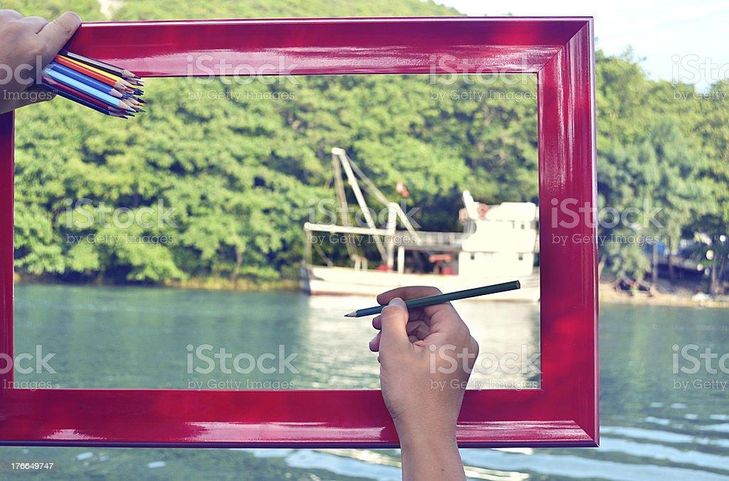 artist royalty-free stock photo