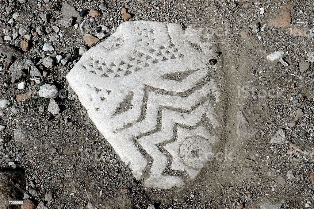 Artistic Archaeology royalty-free stock photo