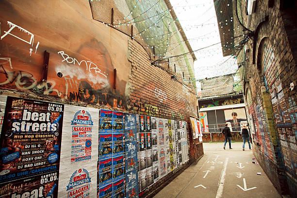 Artistic area of Friedrichshain with underground clubs - Photo