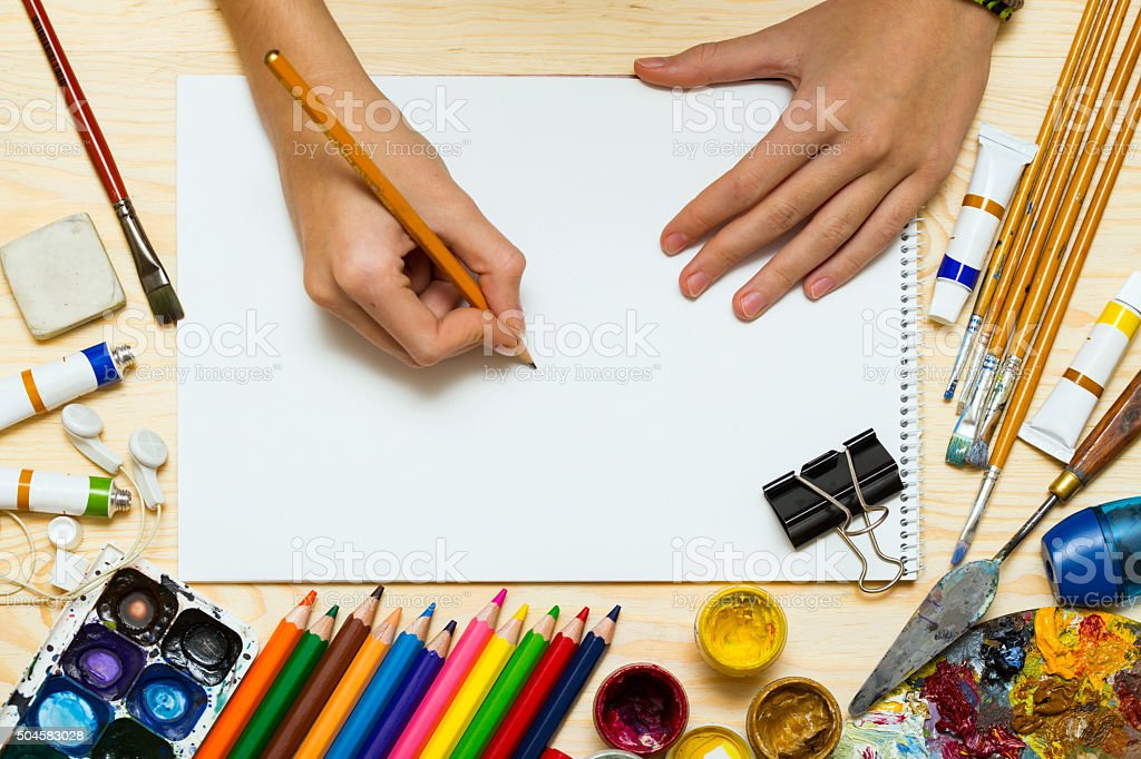 artistic background is stock photo