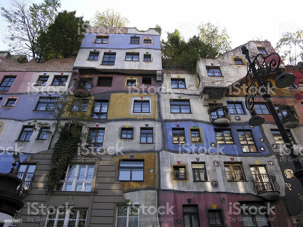 Artistic Building royalty-free stock photo