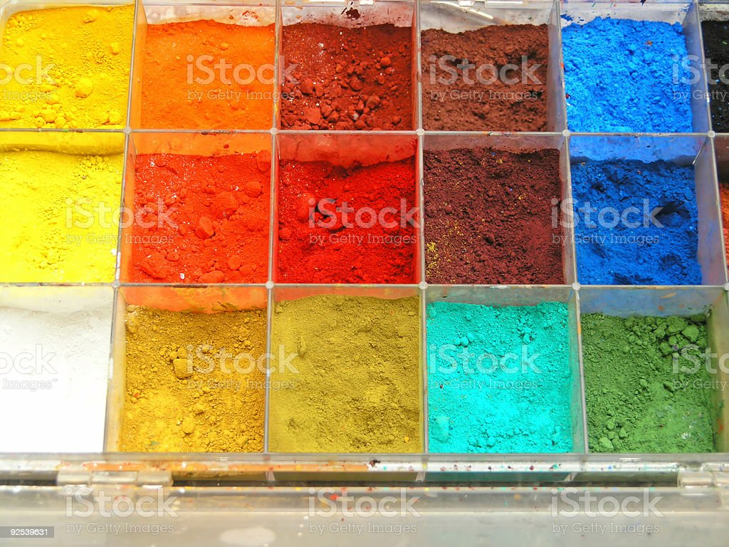 Artistic colors royalty-free stock photo
