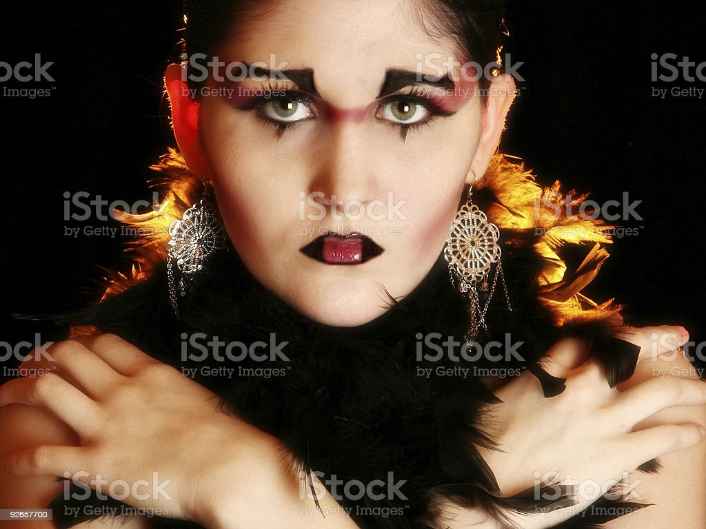 Artistic Cosmetics royalty-free stock photo