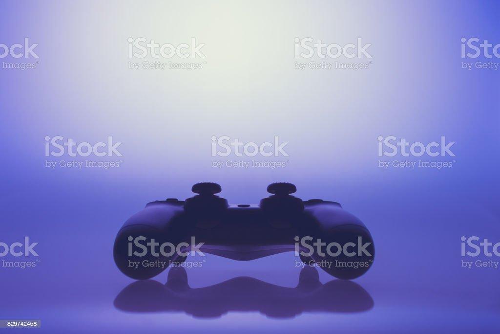 Künstlerische Darstellung eines Joysticks für Videospiele – Foto