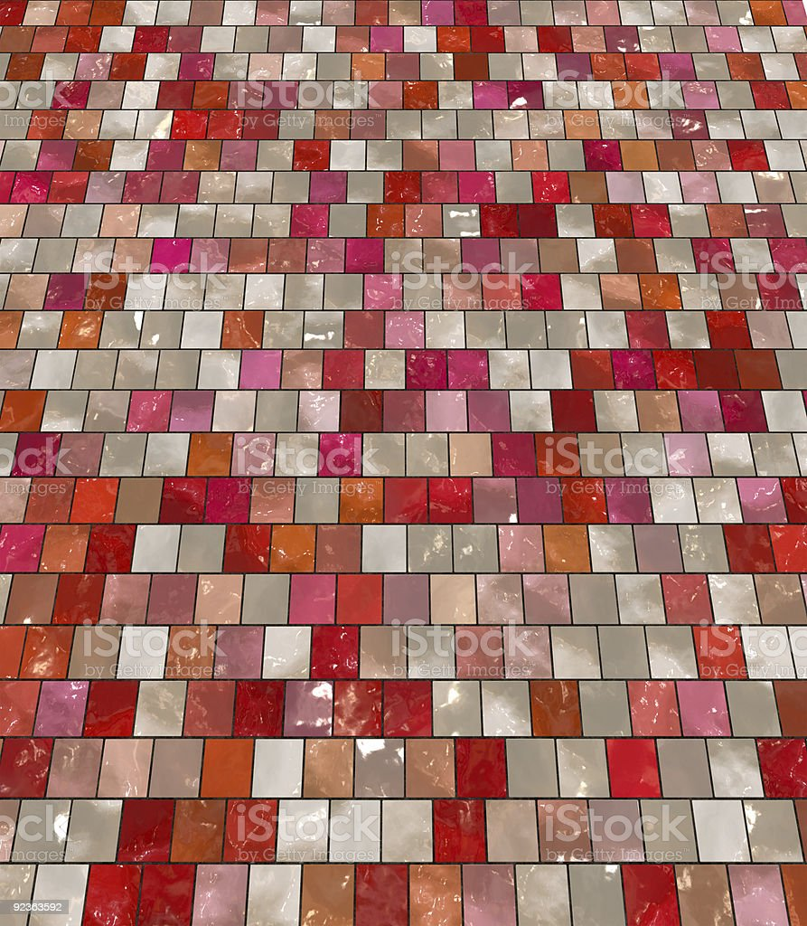 Artistic floor tiles royalty-free stock photo