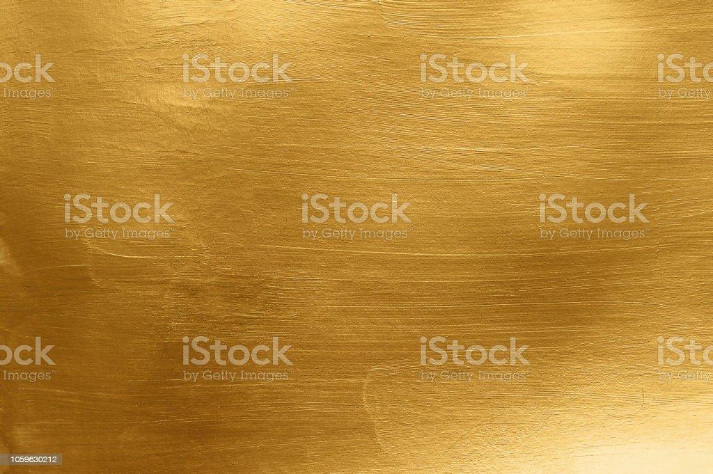 Artistic gold metal texture - Zbiór zdjęć royalty-free (Abstrakcja)