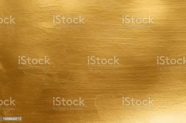 Artistic Gold Metal Texture - zdjęcia stockowe i więcej obrazów Abstrakcja