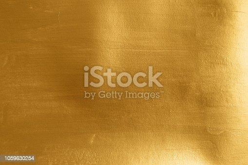 istock Artistic gold metal texture 1059630254