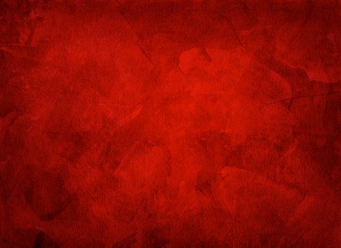 Artistic hand painted multi layered red background - made for christmas purpose