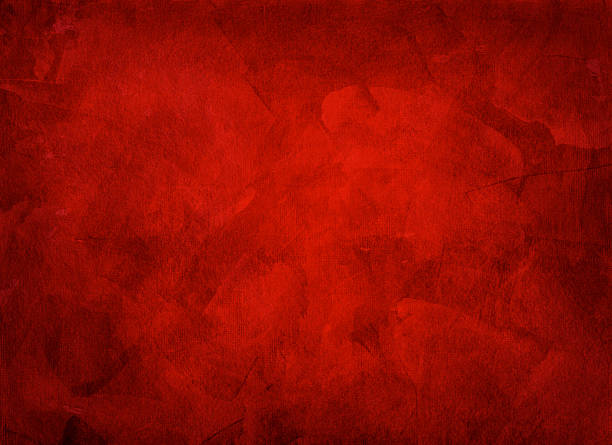 artistic hand painted multi layered red background - 紅色 個照片及圖片檔