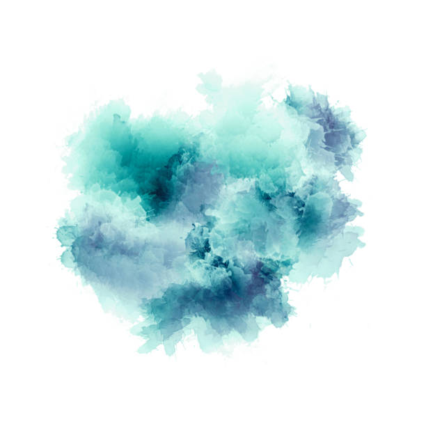 Artistic painting in shades of green , blue and purple. Colorful paint splashes. Modern abstract art. Artistic painting in shades of green , blue and purple. Colorful paint splashes. Modern abstract art. colored powder stock pictures, royalty-free photos & images