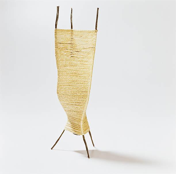 Künstlerische Seil Lampe – Foto