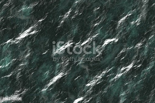 modern teal, sea-green reflecting mineral digital graphic texture or background illustration