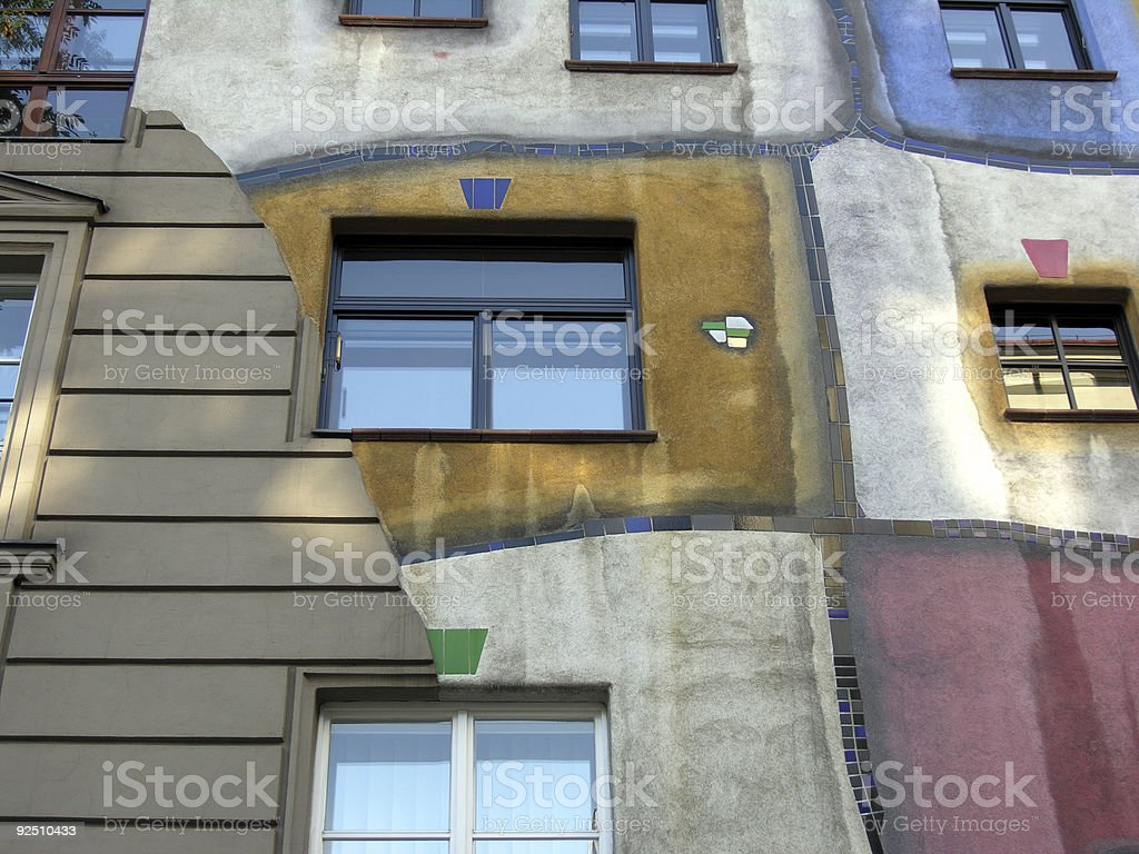 Artistic Windows royalty-free stock photo