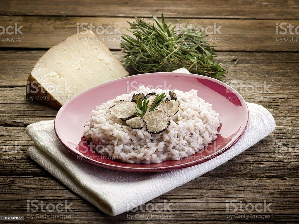 risotto mit Trüffel – Foto