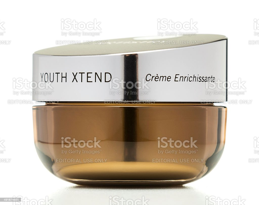 Artistry Youth Xtend cream jar royalty-free stock photo
