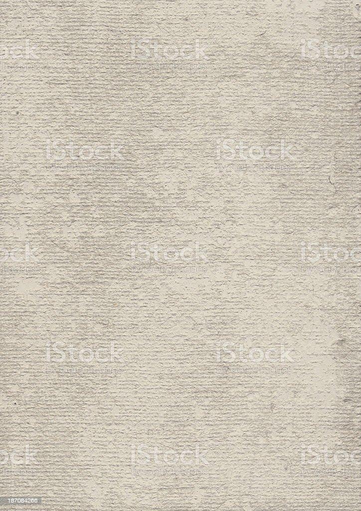 Artist's Beige Burlap Canvas Rough Cast Primed Grunge Texture royalty-free stock photo