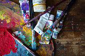 Painted Image, Painting - Activity, Classroom, Workshop, Acrylic Painting
