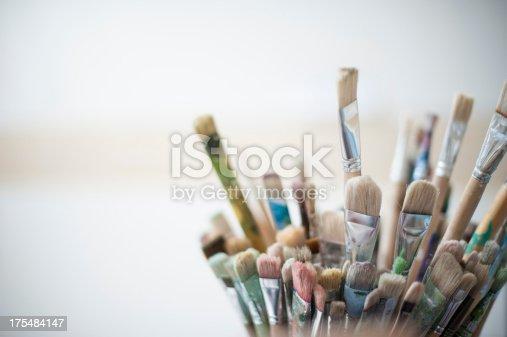 istock Artist's brushes 175484147