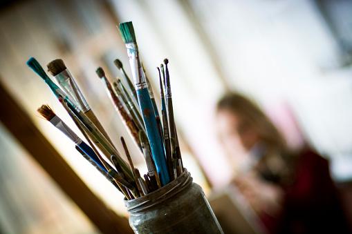 Artist's brushes