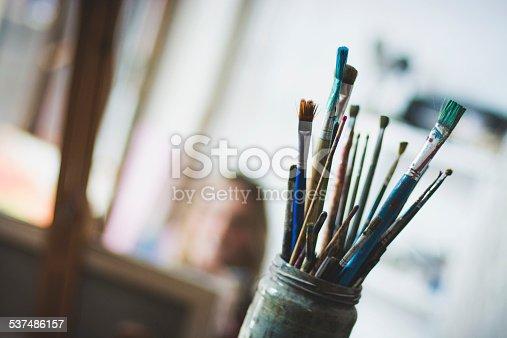 istock Artist's brushes 537486157