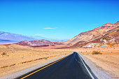 Artist's Drive, Death Valley National Park, United States.